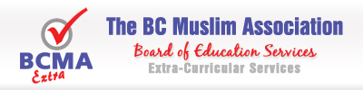 BC MUSLIM EXTRA PROGRAM